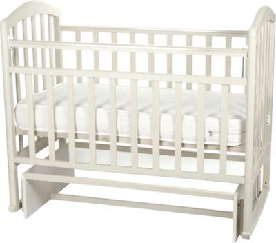 Детская кроватка Антел Алита-3 (белый) - матрас не входит в комплект