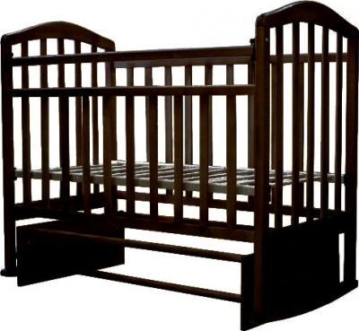 Детская кроватка Антел Алита-3 (венге) - общий вид