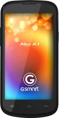 Смартфон Gigabyte GSmart AKU A1 (черный) - общий вид
