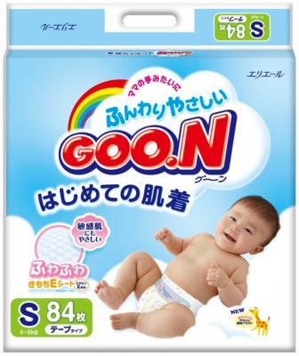 Подгузники Goo.N Premium S (84шт) - общий вид