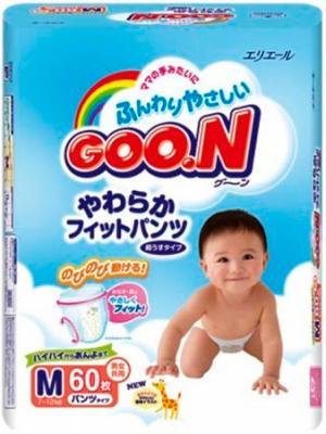 Подгузники-трусики Goo.N Premium М (60шт) - общий вид