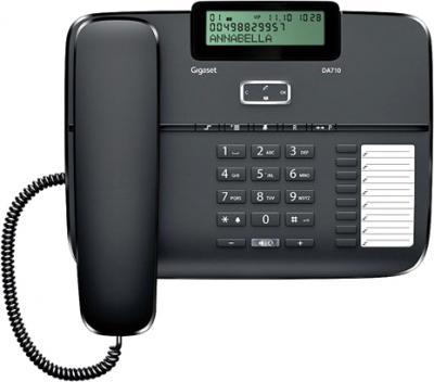 Проводной телефон Gigaset DA710 (Black) - общий вид