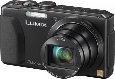 Компактный фотоаппарат Panasonic Lumix DMC-TZ40EE-K (Black) - общий вид