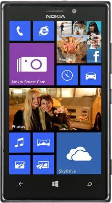 Смартфон Nokia Lumia 925 (Black) - общий вид