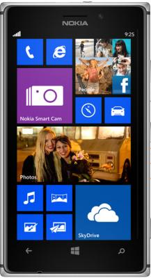 Смартфон Nokia Lumia 925 (White) - общий вид