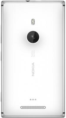 Смартфон Nokia Lumia 925 (White) - вид сзади