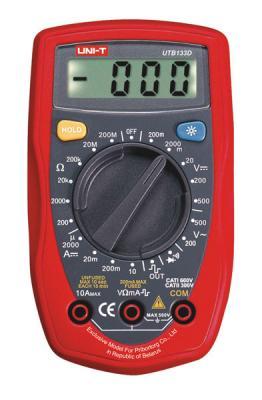 Мультиметр цифровой UNI-T UTВ133D - общий вид