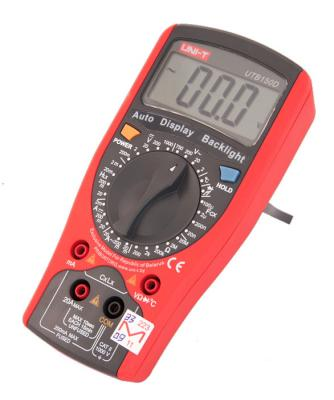 Мультиметр цифровой UNI-T UTВ150D - вполоборота