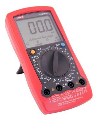 Мультиметр цифровой UNI-T UTВ158С - вполоборота