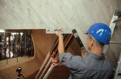 Угломер Bosch DWM 40 L+Set (0.601.096.663) - в работе