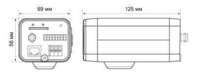 IP-камера Evidence APIX Box / E3 - Точные размеры