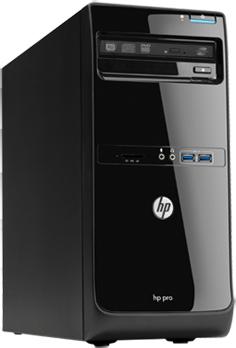 Системный блок HP 3500 MT (D1V68EA) - общий вид