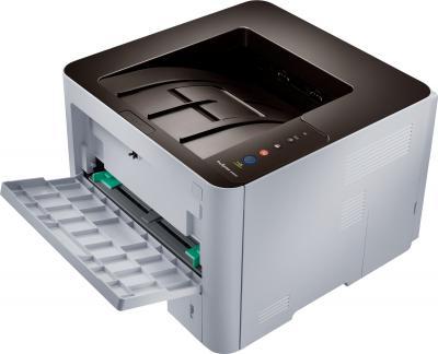 Принтер Samsung SL-M3820D - общий вид с открытым лотком
