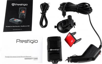 Автомобильный видеорегистратор Prestigio RoadRunner 540 (PCDVRR540) - комплектация