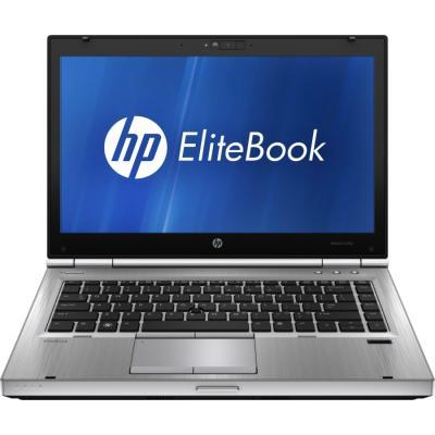 Ноутбук HP EliteBook 8470p (C5A77EA) - фронтальный вид