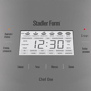 Мультиварка Stadler Form Chef One White (SFC.909) - панель управления