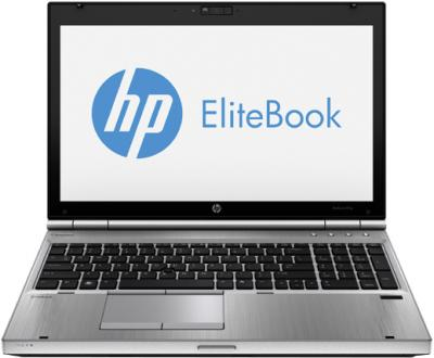 Ноутбук HP EliteBook 8570p (C5A81EA) - фронтальный вид