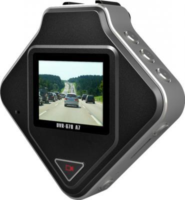 Автомобильный видеорегистратор TeXet DVR-670 A7 - дисплей