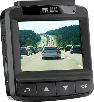 Автомобильный видеорегистратор TeXet DVR-804G - дисплей