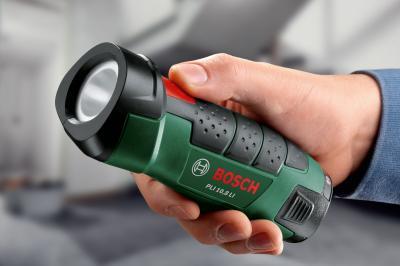 Фонарь Bosch PLI 10.8 Li (0.603.9A1.000) - в работе