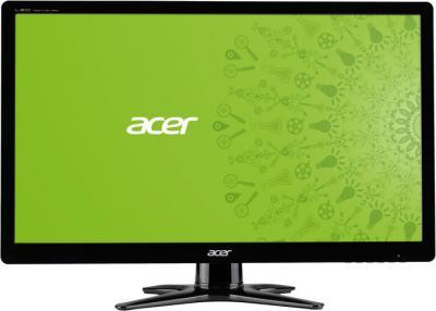 Монитор Acer G206HQLCb - фронтальный вид