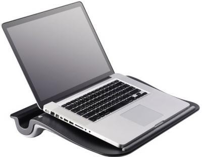 Подставка для ноутбука Cooler Master Choiix Comforter Black (C-HS02-KA) - с ноутбуком