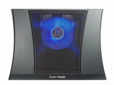 Подставка для ноутбука Cooler Master NotePal Ax (R9-NBC-4WBK-GP) - с подсветкой