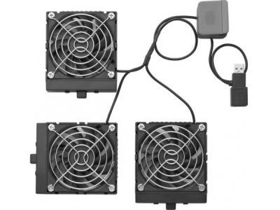 Подставка для ноутбука Cooler Master NotePal U3 (R9-NBC-8PCK-GP) - вентиляторы