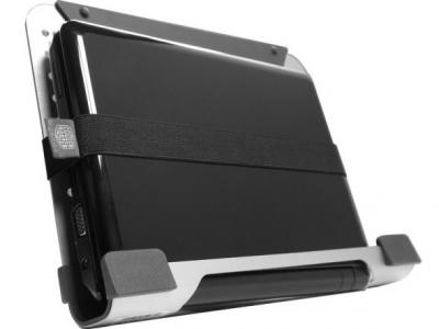 Подставка для ноутбука Cooler Master NotePal U3 (R9-NBC-8PCK-GP) - подставка с закрепленным ноутбуком