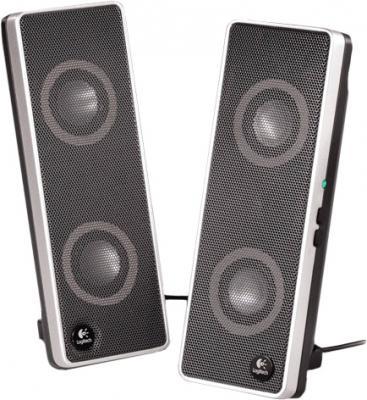 Мультимедиа акустика Logitech V10 Notebook Speakers (970194-0914) - общий вид