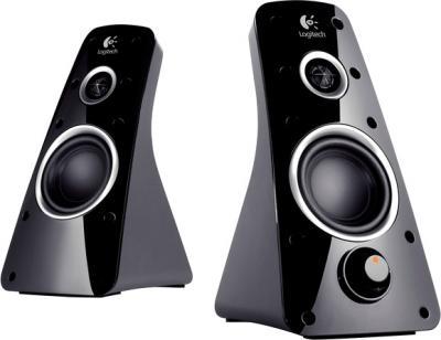 Мультимедиа акустика Logitech Speaker System Z520 (980-000339) - общий вид
