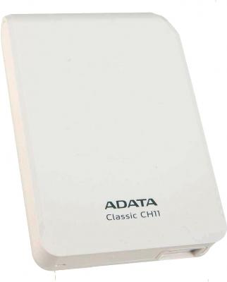 Внешний жесткий диск A-data CH11 White 750GB (ACH11-750GU3-CWH) - общий вид