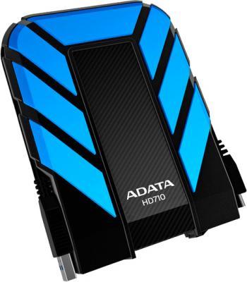 Внешний жесткий диск A-data DashDrive Durable HD710 1TB Blue (AHD710-1TU3-CBL) - общий вид