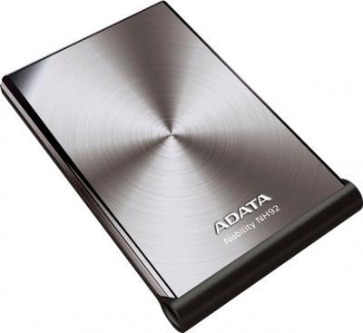 Внешний жесткий диск A-data Nobility NH92 1TB Silver (ANH92-1TU-CSV) - общий вид