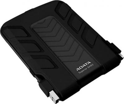 Внешний жесткий диск A-data Superior SH93 1TB Black (ASH93-1TU-CBK) - общий вид