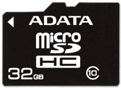 Карта памяти A-data microSDHC (Class 10) 32GB (AUSDH32GCL10-R) - общий вид