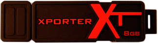 Usb flash накопитель Patriot Xporter XT Boost 8 Gb (PEF8GUSB) - общий вид