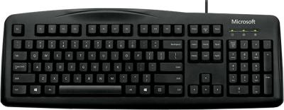 Клавиатура Microsoft Wired Keyboard 200 (Black) - общий вид