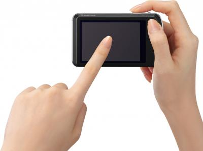 Компактный фотоаппарат Panasonic Lumix DMC-FP5EE-K (Black) - общий вид