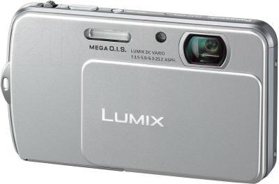 Компактный фотоаппарат Panasonic Lumix DMC-FP5EE-S (Silver) - общий вид