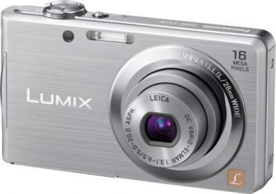 Компактный фотоаппарат Panasonic Lumix DMC-FS18EE-S (Silver) - общий вид