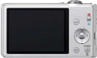 Компактный фотоаппарат Panasonic Lumix DMC-FS18EE-S (Silver) - вид сзади