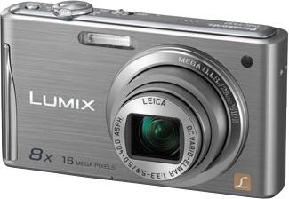 Компактный фотоаппарат Panasonic Lumix DMC-FS37EE-S (Silver) - общий вид