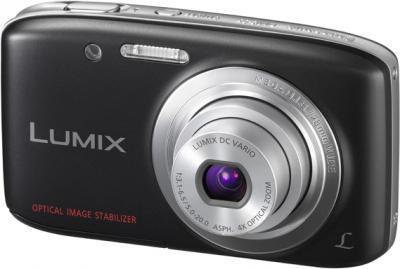 Компактный фотоаппарат Panasonic Lumix DMC-S5EE-K (Black) - общий вид