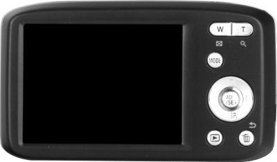 Компактный фотоаппарат Panasonic Lumix DMC-S5EE-K (Black) - вид сзади