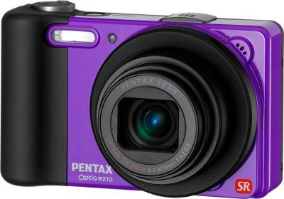 Компактный фотоаппарат Pentax Optio RZ10 (Purple) - общий вид