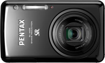 Компактный фотоаппарат Pentax Optio S1 (Black) - вид спереди