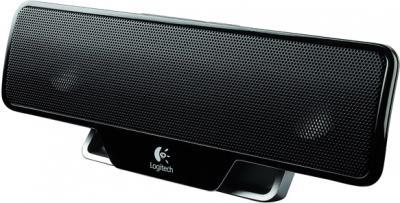 Мультимедиа акустика Logitech Notebook Speaker Z205 (984-000156) - общий вид