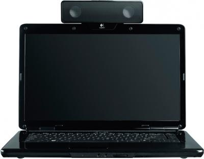 Мультимедиа акустика Logitech Notebook Speaker Z205 (984-000156) - в установленном виде