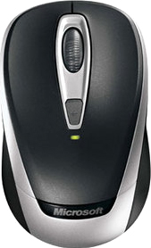 Мышь Microsoft Wireless Mobile Mouse 3000v2 (2EF-00004) - общий вид